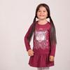 Платье с принтом для девочки