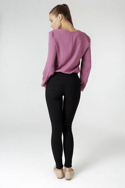Леггинсы из плотной ткани (стрейчевая джинса)
