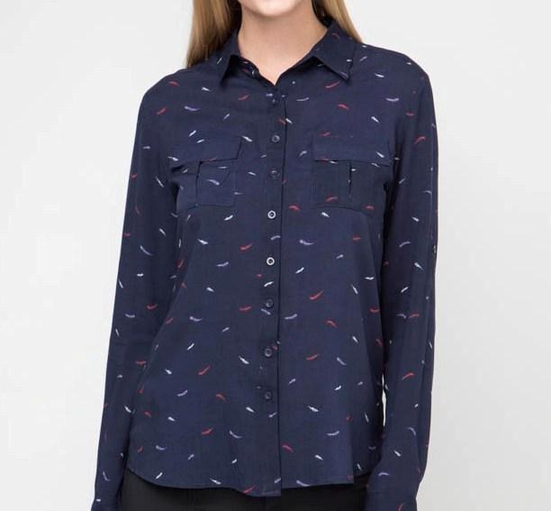 Блузка с длинным рукавом, MariMay