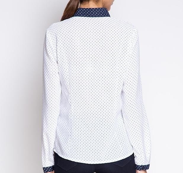 Блузка с длинным рукавом, Горох, MariMay