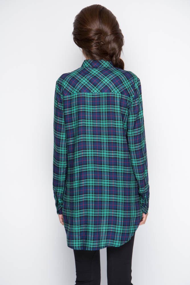 Рубашка удлиненная