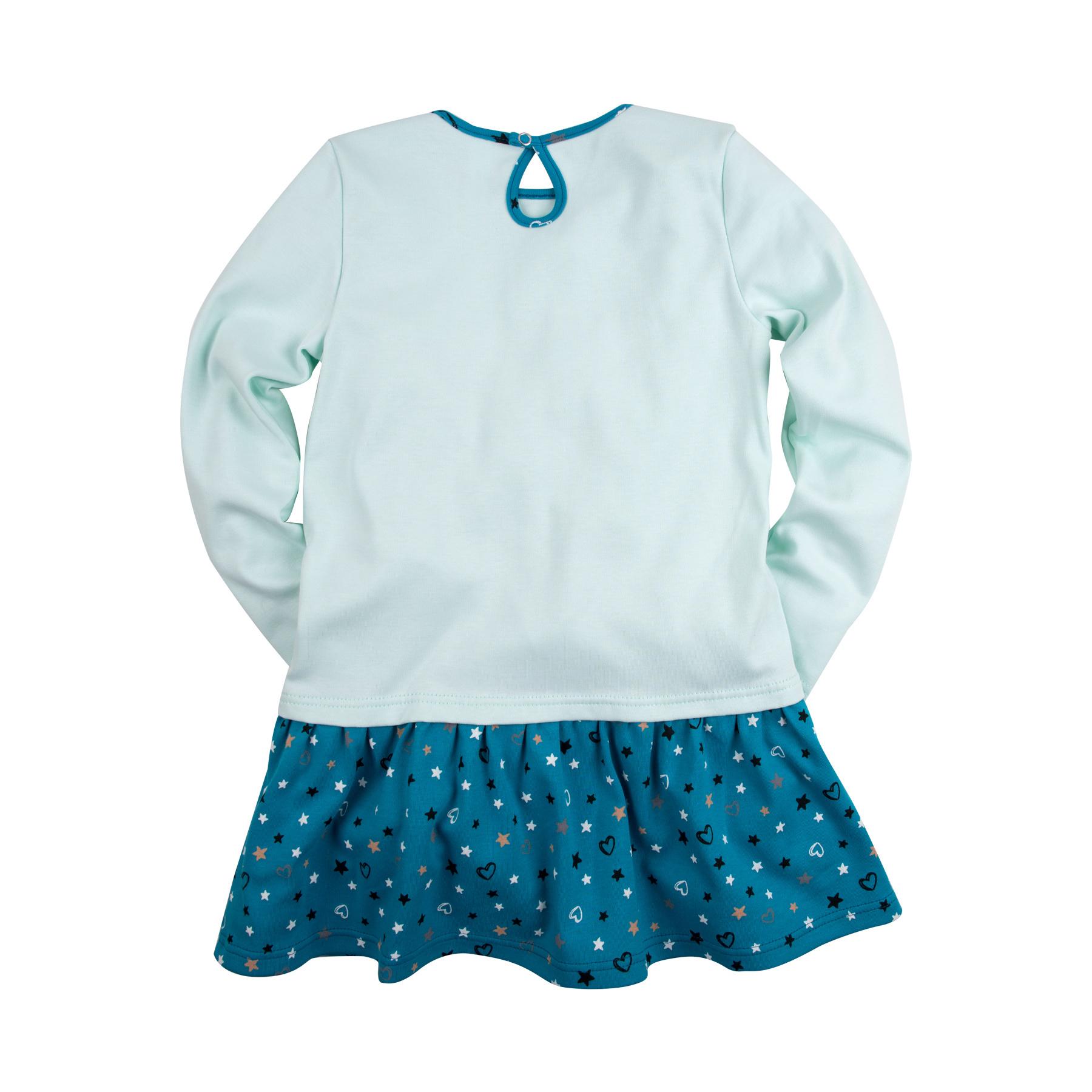 Платье с принтом и стразами для девочки, Bossa Nova