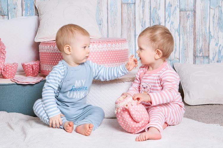 Комбинезон детский на манжетах