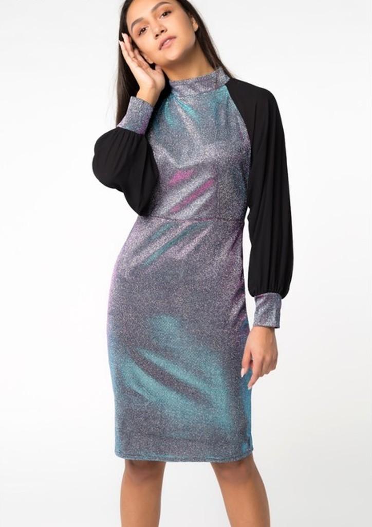 Платье женское хамелеон