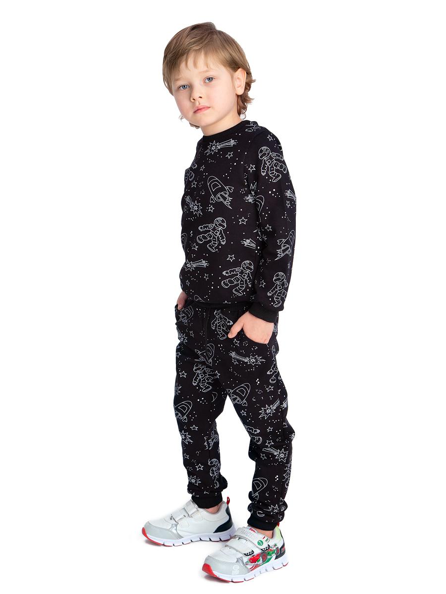 Брюки для мальчика с карманами утепленные