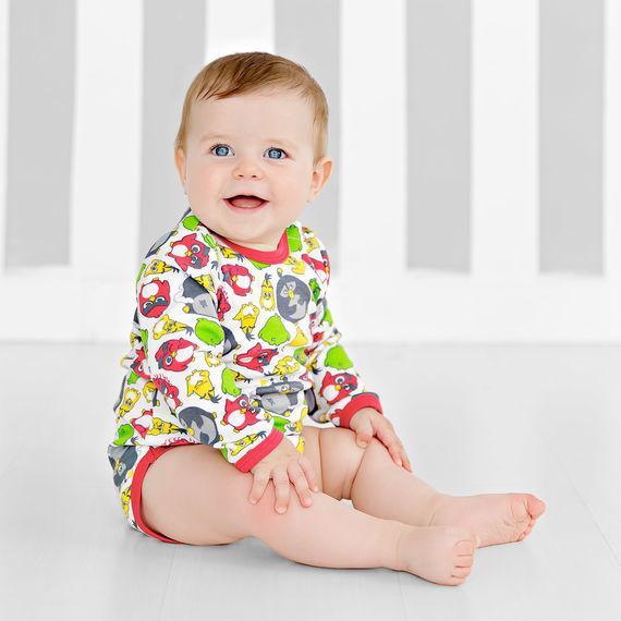 Боди с длинным рукавом для малышей