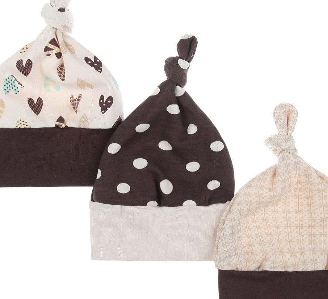 Комплект из 9 предметов (распашонки/3шт. + ползунки/3шт. + шапочки/3шт.), Lucky Child