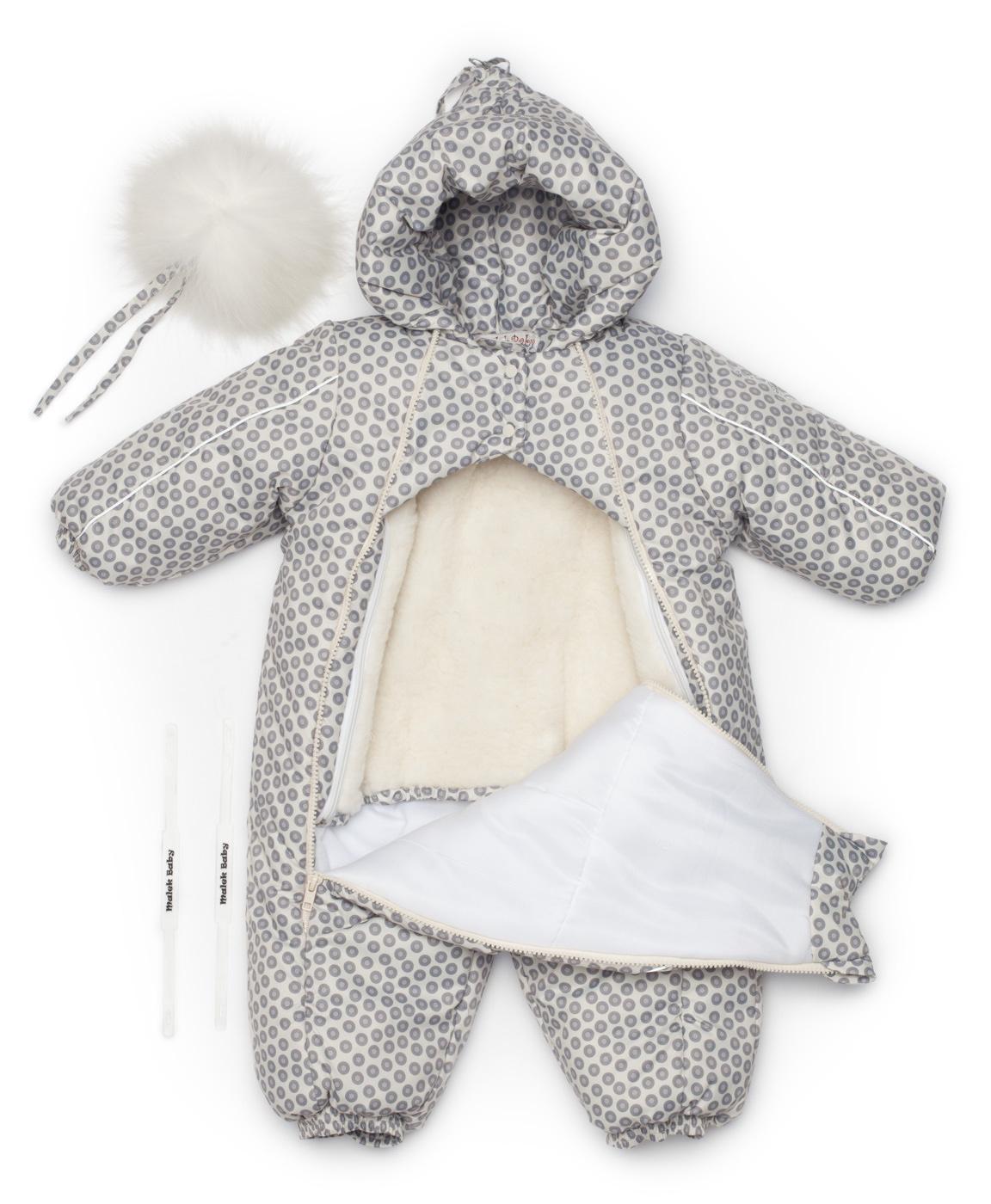 Комбинезон для малышей, осень-зима-весна