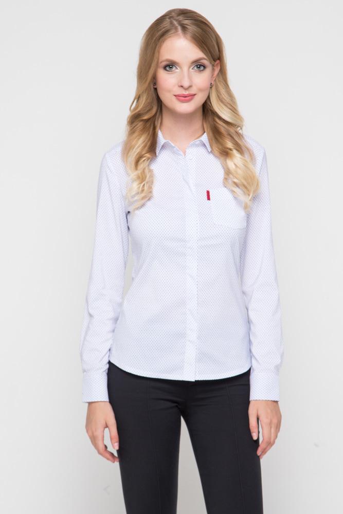 Блузка длинный рукав, Горох, MariMay