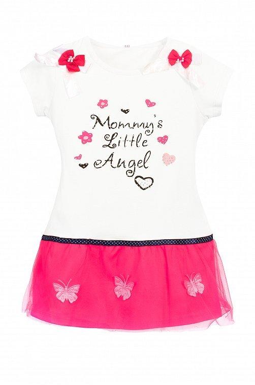Платье для девочки со стразами