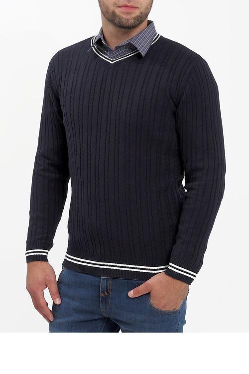 Пуловер мужской, F5