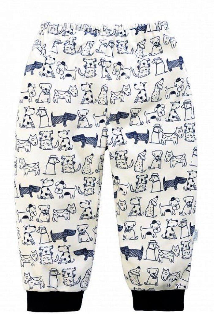 Штанишки для мальчика в рисунком собачки