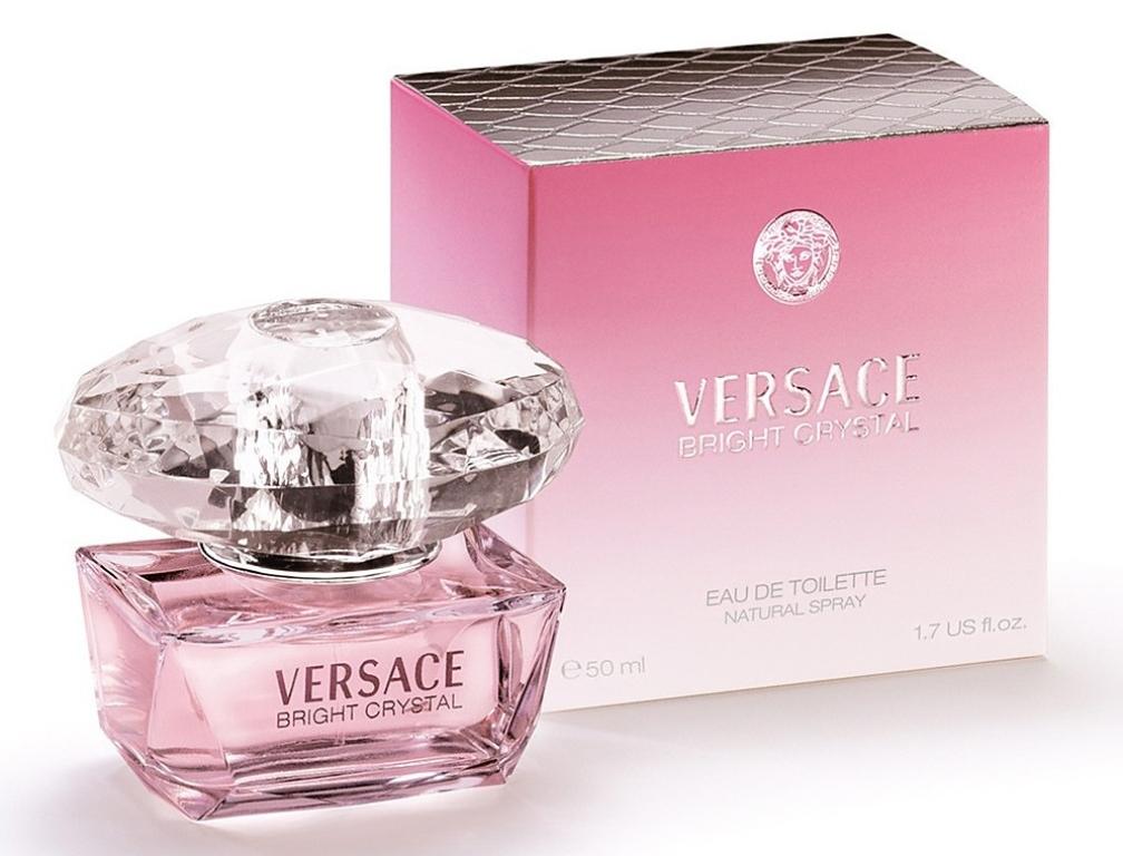 Масляный парфюм с феромонами по мотивам Bright Cristal - Versace