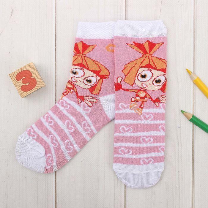 Носки для девочки Фиксики
