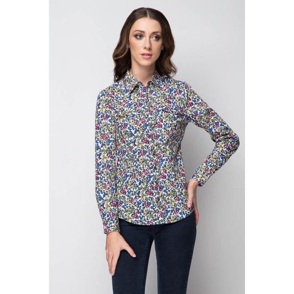 Рубашка с длинным рукавом, Цветы, MariMay