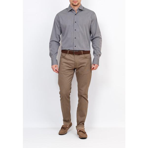 GREG Рубашка мужская, зауженная, STRETCH