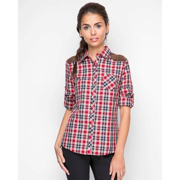 MariMay Рубашка с длинным рукавои, Клетка