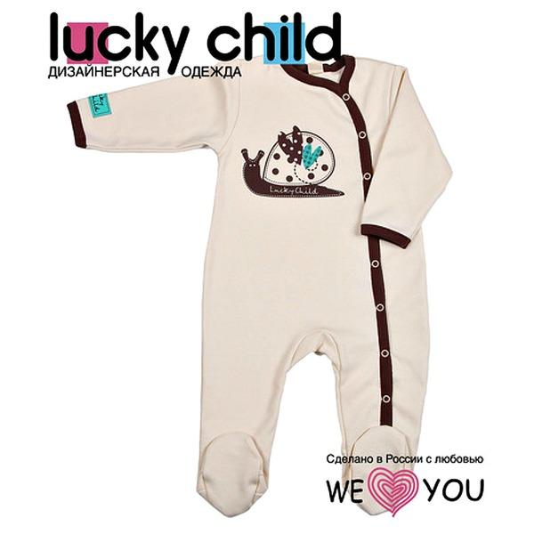Lucky Child Комбинезон, из коллекции «Улитки»