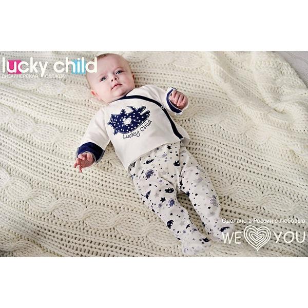 Lucky Child Комплект из 2 предметов (распашонка + ползунки), Котики