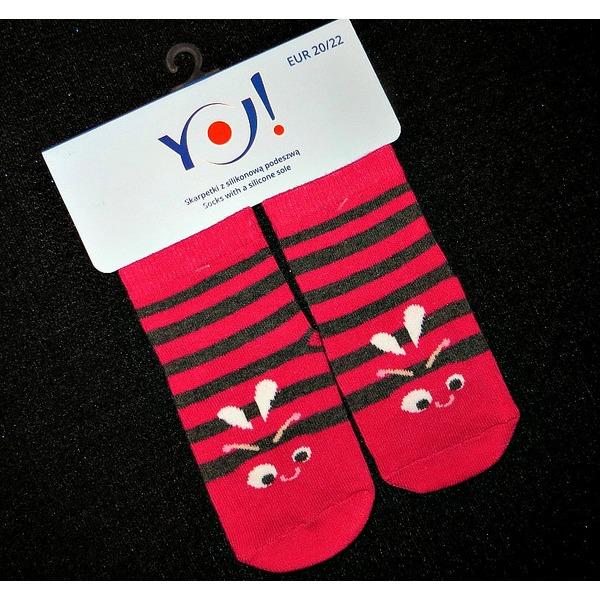 Носки детские с тормозами, Польша, YO! SCORPIO