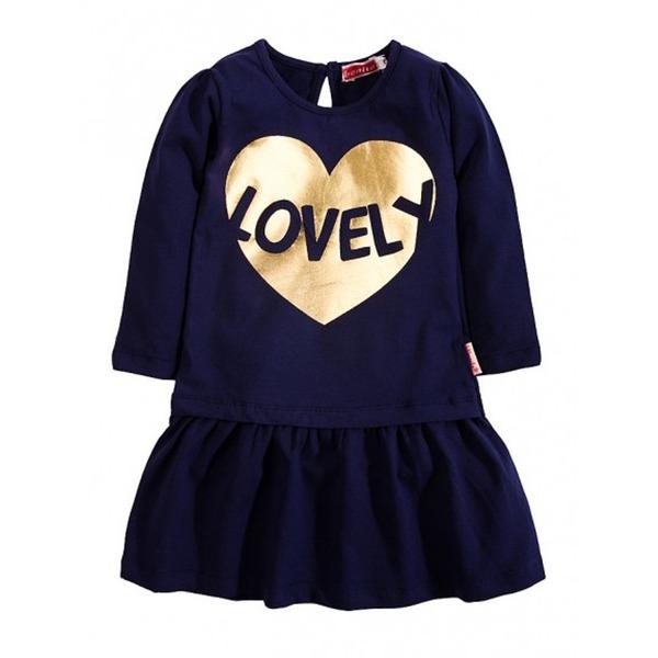 Платье для девочки с блестящим принтом, BONITO