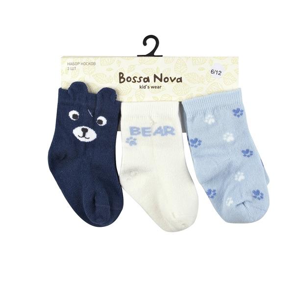 Набор носков детских (3 шт.), Bossa Nova