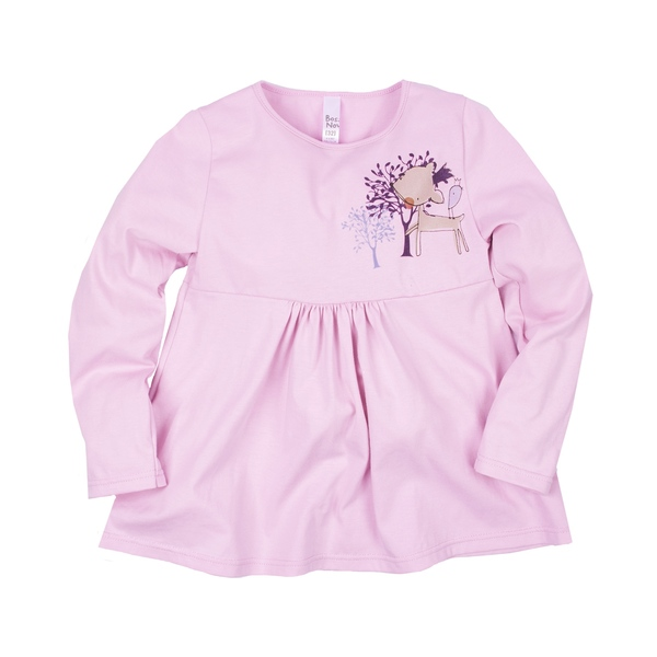 Блузка с принтом для девочки