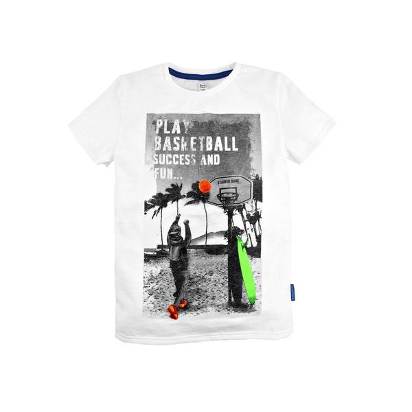 Футболка с флюоресцентным принтом для мальчика, Bossa Nova