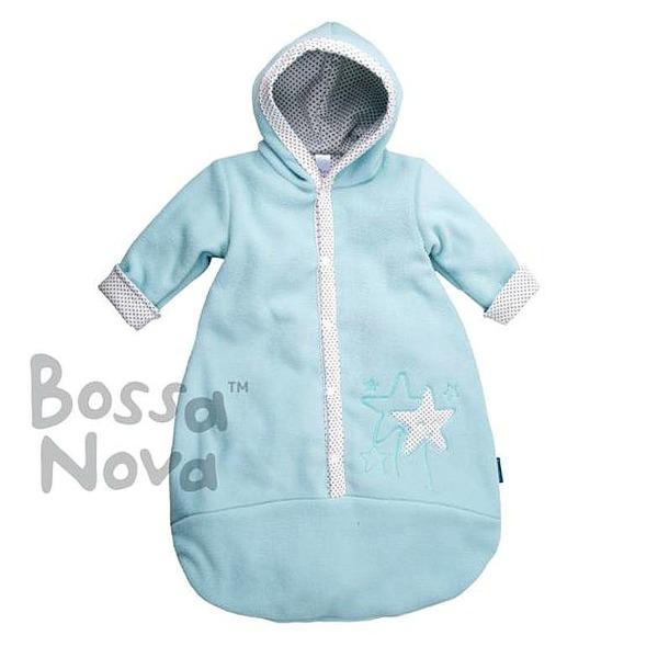 Bossa Nova Конверт для малышей из флиса на х/б подкладе