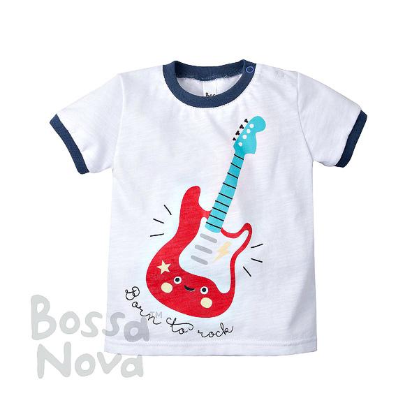 Bossa Nova Футболка с принтом для мальчика
