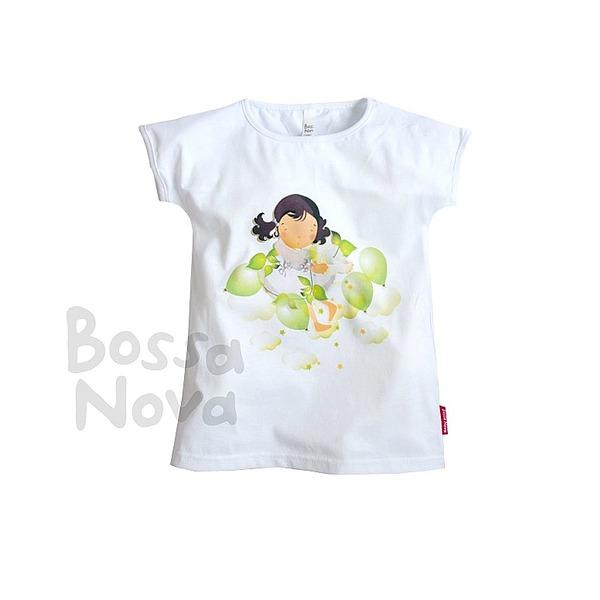 Bossa Nova Футболка с принтом для девочки