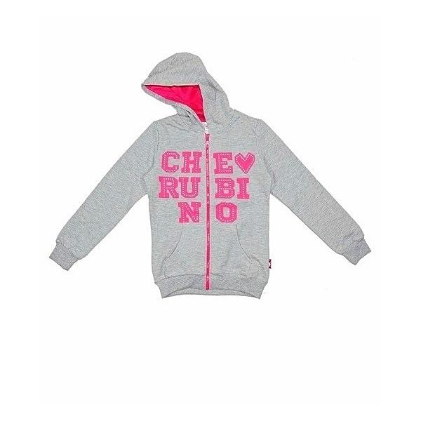 Толстовка-куртка для девочки, Cherubino