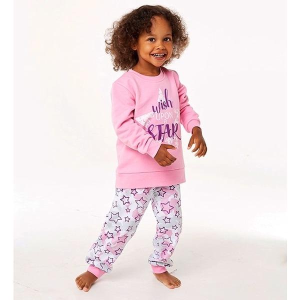Пижама для девочки утепленная