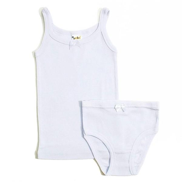 Комплект белья для девочек - майка и трусики, UMKA
