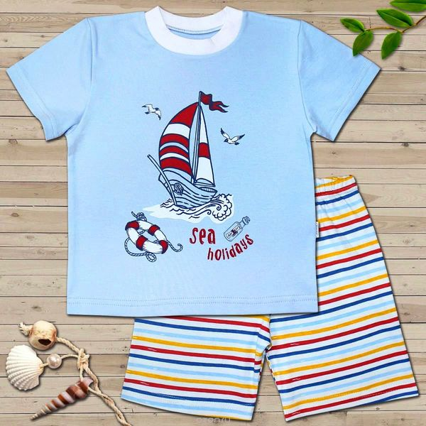 Пижама для мальчика, Веселый малыш