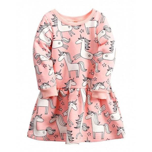 Утепленное платье для девочки
