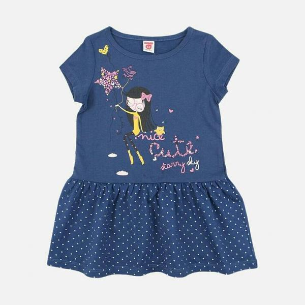 Платье для девочки с блестками