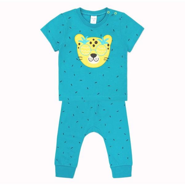 Комплект для мальчика с вышивкой
