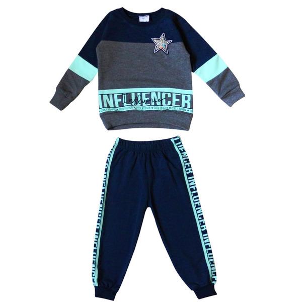 Комплект для девочек спортивного стиля с блестящей звездой