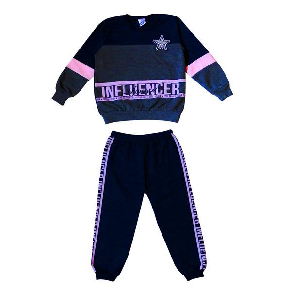 Комплект для девочек спортивного стиля с блестящей звездой, УЦЕНКА