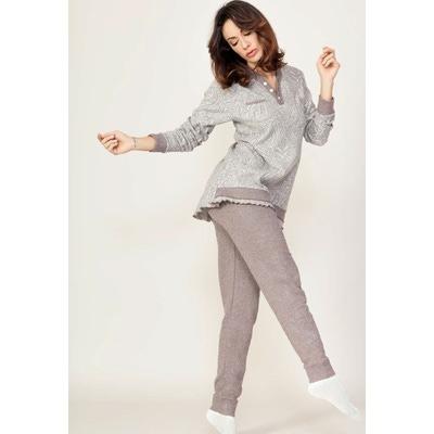Костюм домашний: лонгслив и брюки